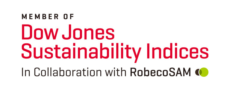 Member of Dow Jones Sustainability Indices
