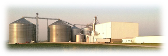 Grain collection facilities of Bluegrass