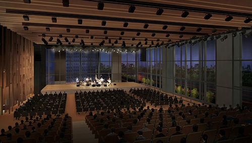 Artist's impression of the Multipurpose Hall
