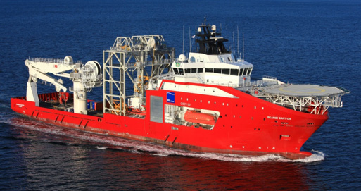 Subsea support vessel: Skandi Santos