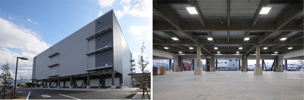 Daito Distribution Center (Daito City, Osaka Prefecture)