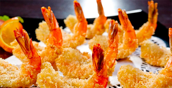 Minh Phu's product (Breaded shrimp)